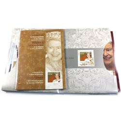 1952-2012 Queen Elizabeth II Diamond Jubilee complete Regal Collection. keepsake folders showcases a