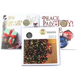2012, 2015 & 2018  Holiday Gift sets. 2pcs