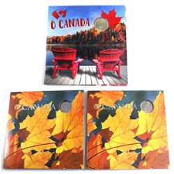 2013 & 2018 O Canada Gift sets. Lot include 2x 2013 & 1x 2018. 3pcs