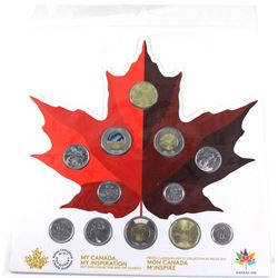 2017 Canada 150 Circulation 12-Coin Keepsake Collection