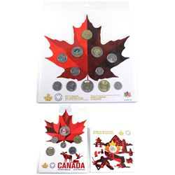 3x 2017 & 2018 Canada Commemorative sets: 2017 Canada $3 Heart of our Nation Fine Silver, 2018 Canad