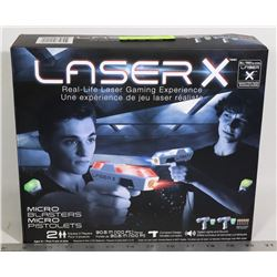 NEW LASER X REAL-LIFE LASER GAMING