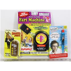 SEALED ITEMS FART MACHINE #2 PRANK