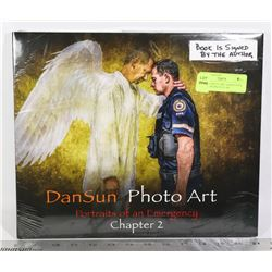 DANSUN PHOTO ART HARDCOVER BOOK PORTRAITS OF AN