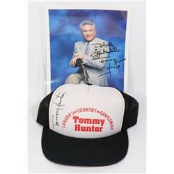 """TOMMY HUNTER"" CDN COUNTRY STAR AUTOGRAPHED"