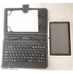 TABLET WITH KEYBOARD CASE