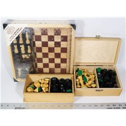 VINTAGE TO SET CHESS PLAYERS
