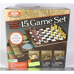 IDEAL GAME CLASSICS, 15 GAME SET