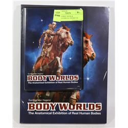 """""""BODY WORKS"""" BOOK & DVD-ANATOMICAL EXHIBIT OF"""