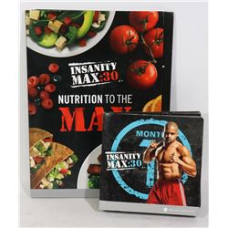 BEACHBODY INSANITY MAX:30 WORKOUT DVDS AND GUIDES