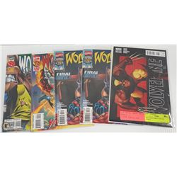 WOLVERINE DIRECT EDITION COMICS