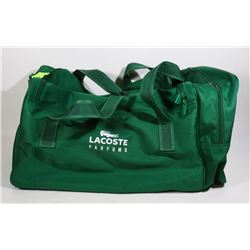 LACOSTE 22 INCH DUFFLE BAG HOUSEHOLD