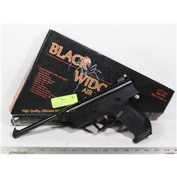 NEW BLACK WIDOW .177 CA L PISTOL 300FPS