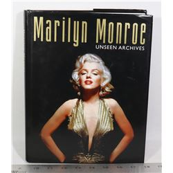 MARILYN MONROE UNSEEN ARCHIVES HARDCOVER BOOK