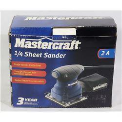 "MASTERCRAFT 1/4"" SHEET SANDER"