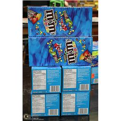 CASE WITH 6 BOXES OF 24 TUBES OF MINI M&M'S