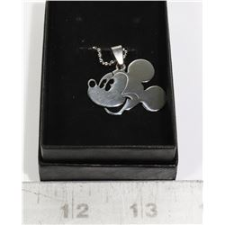 MICKEY MOUSE SHAPED PENDANT WITH