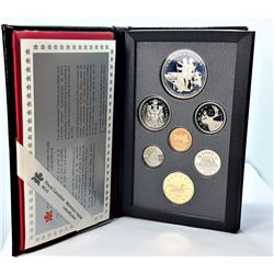 19)  RCM CANADIAN 1990 PROOF COIN SET