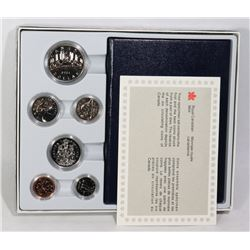 1984 CANADIAN 6 COIN SPECIMEN COIN SET WITH COA