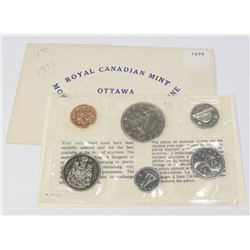 1972 CANADIAN 6 COIN PROOF LIKE COIN SET WITH