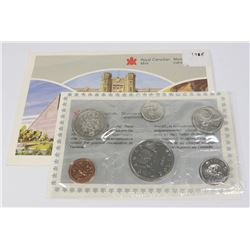 1986 CANADIAN 6 COIN PROOF LIKE COIN SET WITH