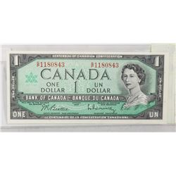 1967 UNCIRCULATED 1 DOLLAR NOTE
