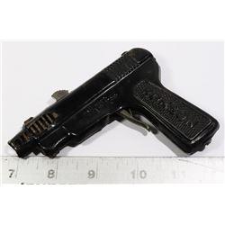 1950S RONSON TIN GUN LIGHTER NEEDS TLC