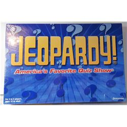 "29)  FACTORY SEALED ""JEOPARDY"" BOARD"