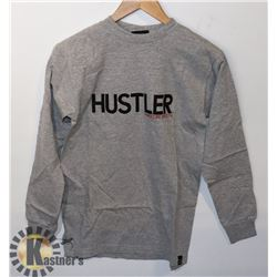 NEW HUSTLER LONG SLEEVE SHIRT SIZE MEDIUM
