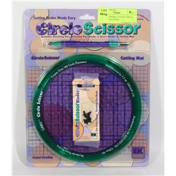 CIRCLE SCISSOR CUTTING CIRCLE WITH MAT & EXTRA