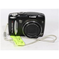 10MP CANON DIGITAL CAMERA (USES AA BATTERIES)