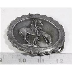 BELT BUCKLE- SISKEYOU BUCKLE COMPANY- SIGNED-
