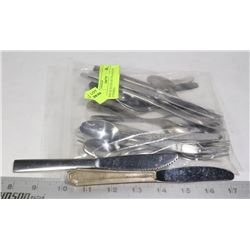 BAG OF 20 COLLECTORS AIRLINE UTENSILS