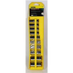 "STANLEY 10 PIECE 3/8"" DEEP SOCKET SET"