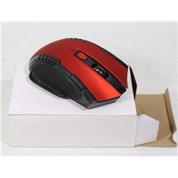 RED WIRELESS MOUSE