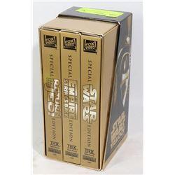 STAR WARS ORIGINAL TRILOGY VHS SET