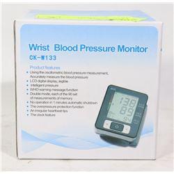 NEW WRIST BLOOD PRESSURE MONITOR