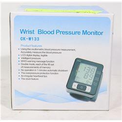 NEW WRIST BLOOD PRESSURE MONITOR NEW IN RETAIL BOX