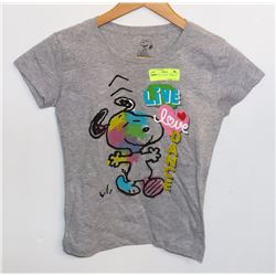 YOUTH GIRLS SNOOPY T-SHIRT XL