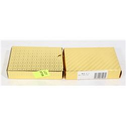 TWO NEW GOLD COLOUR WATERPROOF CARD SETS