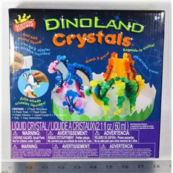 NEW SCIENTIFIC EXPLORER DINO LAND CRYSTALS
