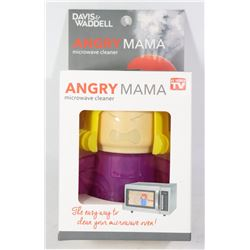 NEW ANGRY MAMA MICROWAVE CLEANER WITH