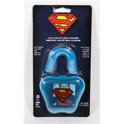 NEW SUPERMAN YOUTH CUSTOM FIT MOUTHGUARD