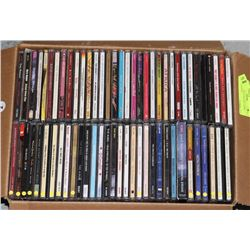 LOT OF 65 PLUS CD'S INCLUDING THE BEATLES,