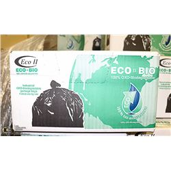 """CASE OF 200 - 35"""" X 48"""" REGULAR BLACK GARBAGE BAGS"""