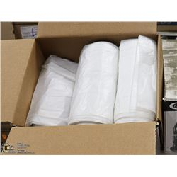 "CASE OF 125 CLEAR FOOD GRADE BAGS 36"" X 50"""