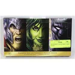 2019 MARVEL COLLECTIBLE CARDS IN BOX