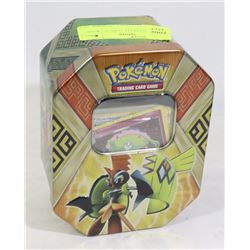 POKEMON COLLECTORS TIN WITH CARDS