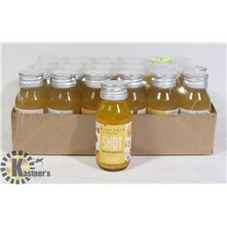 "24 CASE OF ORGANIC TEA SHOTS ""YELLOW FRUIT"" FLAVOR"