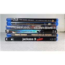18)  LOT OF 6 BLU-RAY DISKS, ONE IS FACTORY